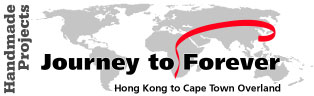 Hong Kong to Cape Town Overland