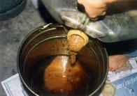 Aceite de cocina usado