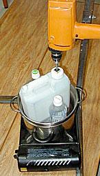 Mini-reactor para pruebas
